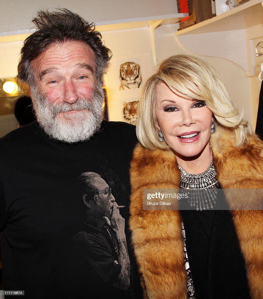 Celebrities Visit Broadway - March 29, 2011 : News Photo
