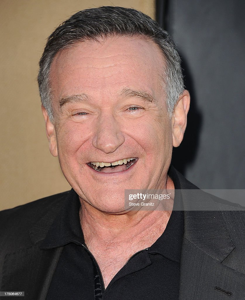 Robin Williams arrives at the Television Critic Association's Summer Press Tour - CBS/CW/Showtime Party at 9900 Wilshire Blvd on July 29, 2013 in Beverly Hills, California.