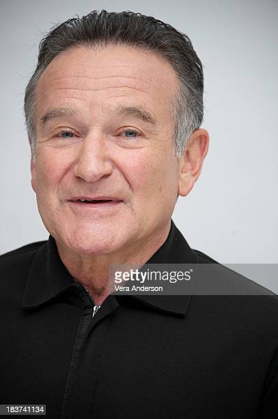 Robin Williams at The Crazy Ones Press Conference at the Four Seasons Hotel on October 8 2013 in Beverly Hills California