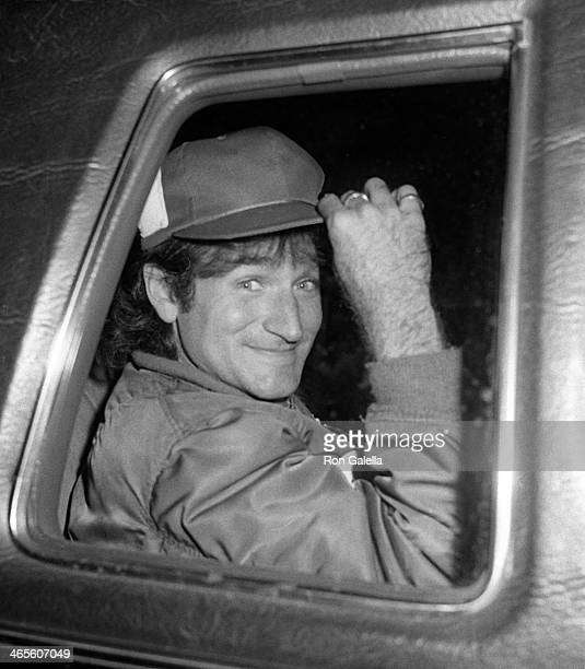 Robin Williams attends Robin Williams Opening Party on April 11 1979 at Studio 54 in New York City