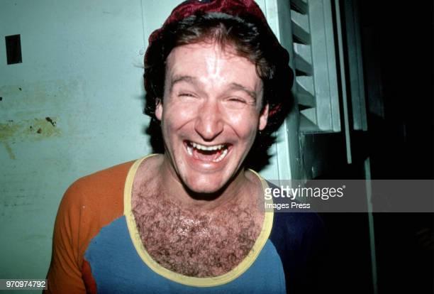 Robin Williams circa 1980 in New York.