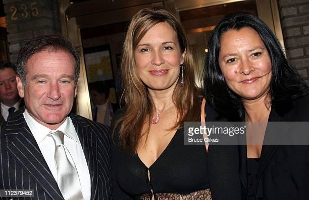Robin Williams, Dana Reeve, and Marsha Garces Williams