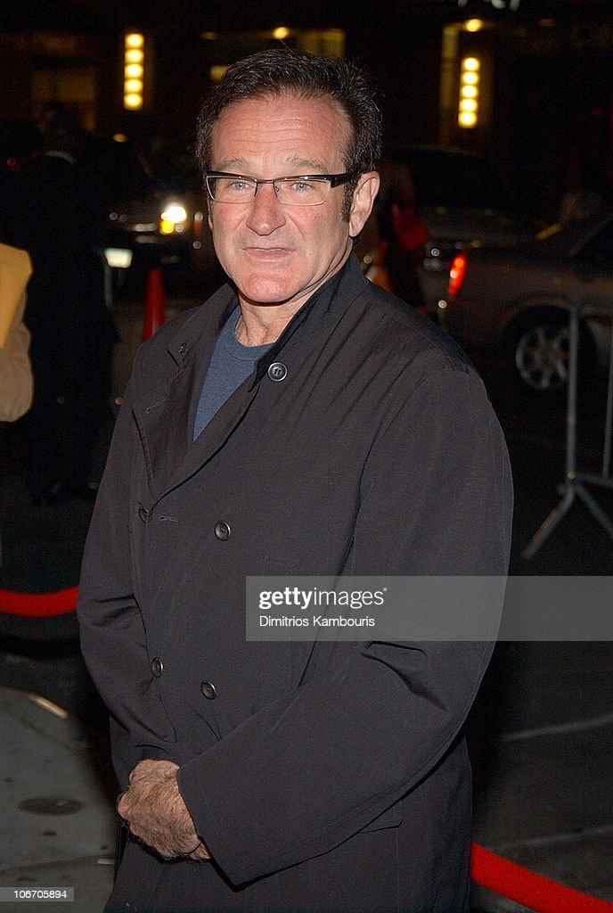 Robin Williams during 1st Annual LAByrinth Theater Company Celebrity Charades Benefit presented by Gotham and LA Confidential Magazine at Daryl Roth Theater in New York City, New York, United States.