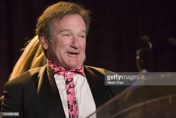 Robin Williams during 50th Annual San Francisco International Film Festival Film Society Awards Night at Westin St Francis Hotel in San Francisco CA...