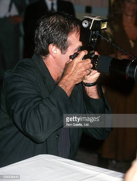 Robin Williams during Friars Club Roasts Whoopi Goldberg at Hilton Hotel in New York City New York United States