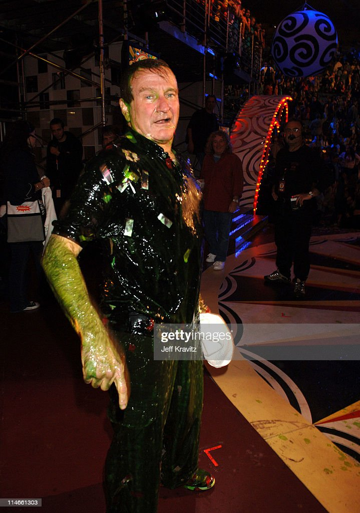 Robin Williams during Nickelodeon's 19th Annual Kids' Choice Awards - Backstage and Audience at Pauley Pavillion in Westwood, California, United States.