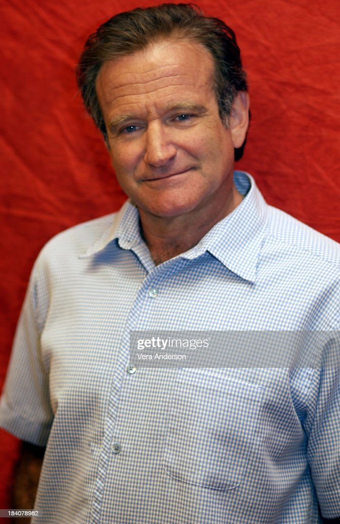 Robin Williams during One Hour Photo Press Conference with Robin Williams and Michael Vartan at Park Hyatt Hotel in Century City, California, United States.