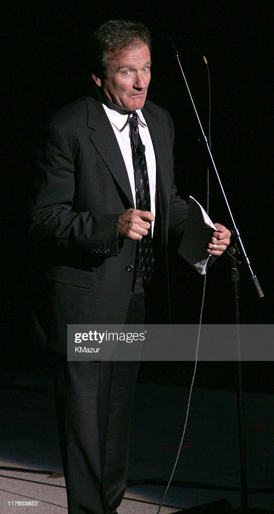 Robin Williams during The ACLU Freedom Concert and After Party at Avery Fisher Hall in New York City, New York, United States.