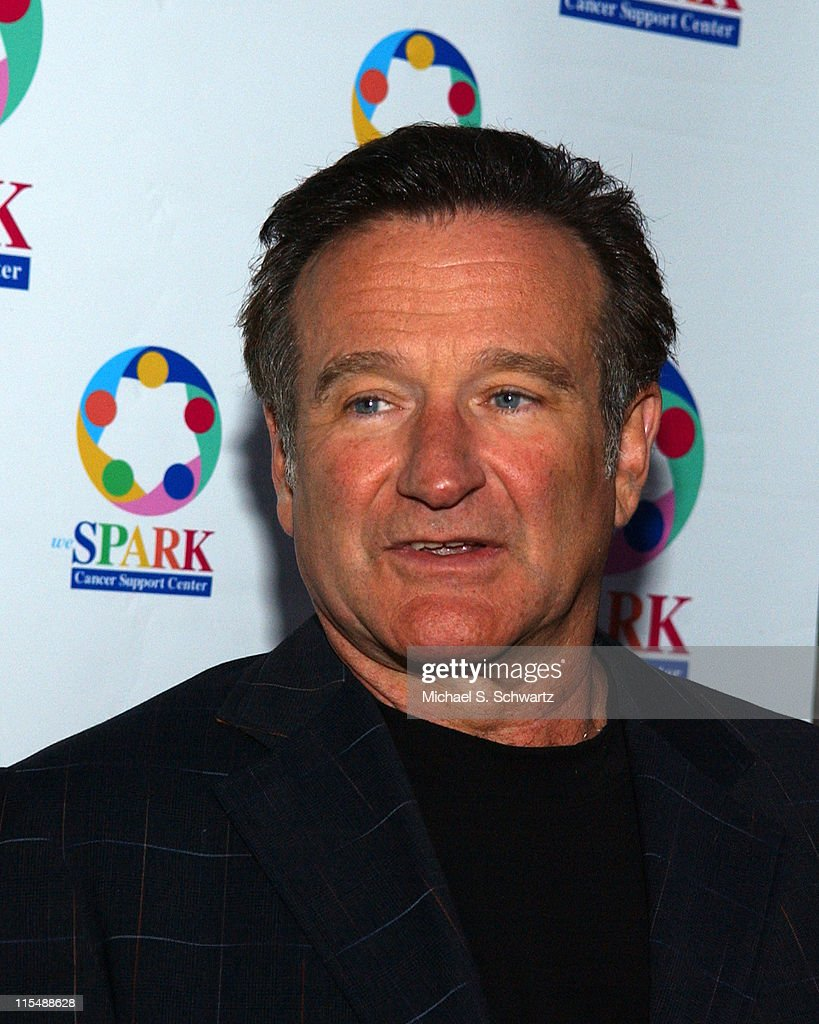 Robin Williams during 'weSparkle, Take VI Comedy Tonight' Honoring Jonathan Winters at The Alex Theatre in Glendale, California, United States.