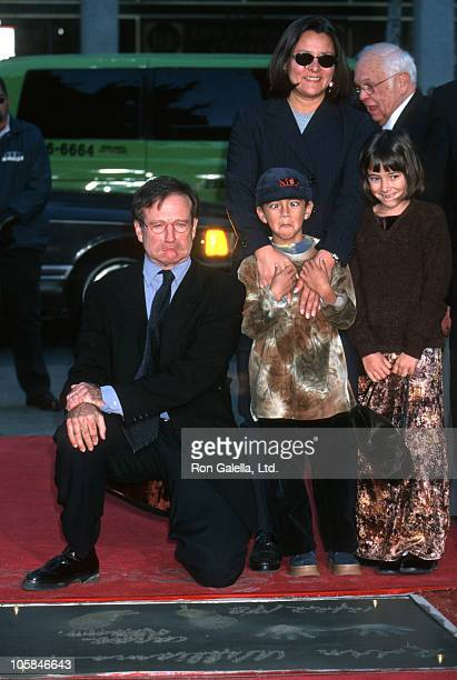 Robin Williams Marsha Williams Cody Williams and Zelda Williams