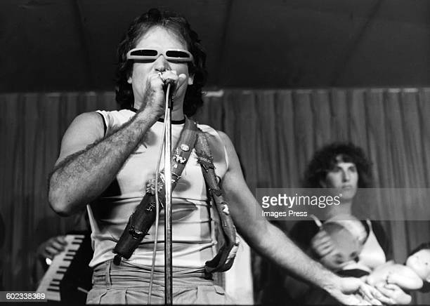 Robin Williams perform on his 'Off The Wall' HBO TV Special at the Roxy Theatre circa 1979 in West Hollywood California