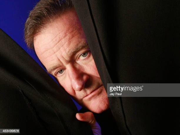 Robin Williams photographed backstage before his performance at the Ted Constant Convocation Center during a 30-city tour October 2009 in Norfolk,...