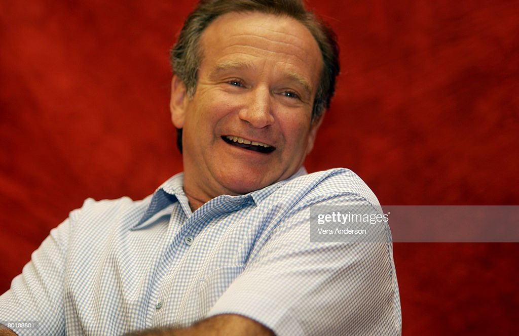 'One Hour Photo' Press Conference with Robin Williams and Michael Vartan : News Photo