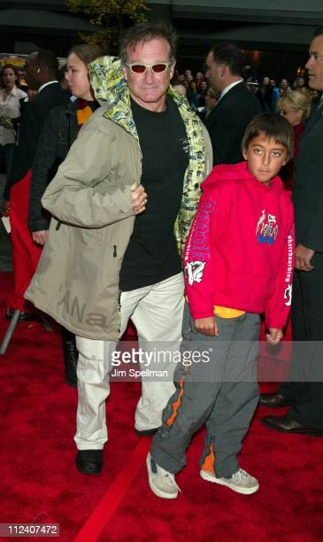 Robin Williams son Cody during 'Harry Potter and the Chamber of Secrets' New York Premiere Arrivals at The Ziegfeld Theatre in New York City New York...