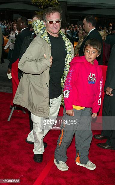 Robin Williams son Cody during Harry Potter and the Chamber of Secrets New York Premiere Arrivals at The Ziegfeld Theatre in New York City New York...