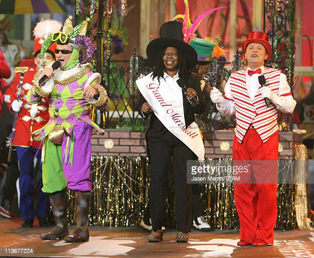 Robin Williams Whoopi Goldberg and Billy Crystal during HBO AEG Live's The Comedy Festival Comic Relief 2006 Show at Caesars Palace in Las Vegas...