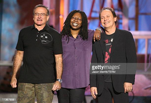Robin Williams Whoopi Goldberg and Billy Crystal