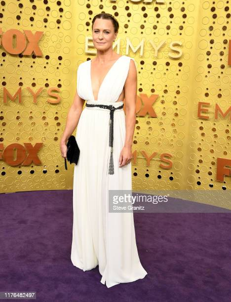 Robin Wright arrives at the 71st Emmy Awards at Microsoft Theater on September 22, 2019 in Los Angeles, California.