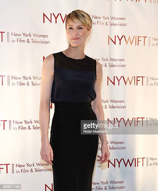 Robin Wright attends New York Women In Film And Television's 33rd Annual Muse Awards at New York Hilton on December 12, 2013 in New York City.