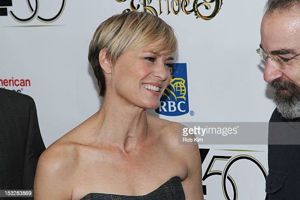 """Robin Wright attends the 25th Anniversary Screening & Cast Reunion Of """"The Princess Bride"""" During The 50th New York Film Festival at Alice Tully Hall..."""