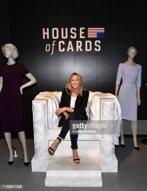 "Robin Wright attends the Netflix ""House of Cards"" FYSEE Event at Raleigh Studios on June 04, 2019 in Los Angeles, California."