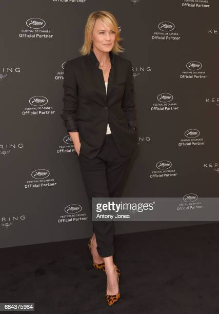 Robin Wright attends Women In Motion Robin Wright during the 70th annual Cannes Film Festival at Palais des Festivals on May 18 2017 in Cannes France