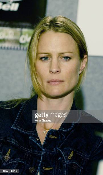 "Robin Wright during 2002 Toronto International Film Festival - ""White Oleander"" Press Conference at Four Seasons Hotel in Toronto, Ontario, United..."