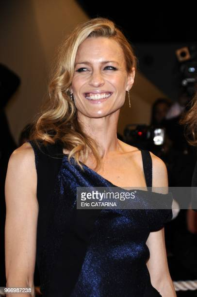 Robin Wright Penn attends the Vincere Premiere