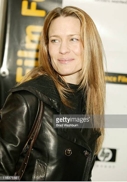 Robin Wright Penn during 2005 Sundance Film Festival 'Nine Lives' Premiere at Eccles Center Theatre in Park City Utah United States