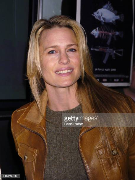 Robin Wright Penn during Sorry Haters New York City Premiere Arrivals at The IFC Center in New York New York United States