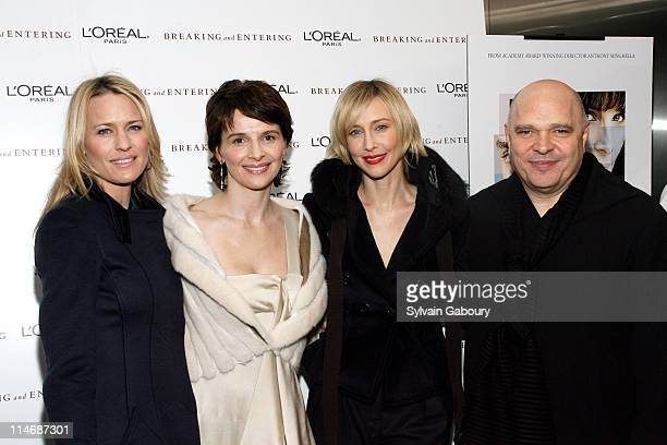 Robin Wright Penn Juliette Binoche Vera Farmiga and Anthony Minghella