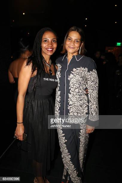 Robin Young and Ayiko Broyard attend the Annual PreGrammy Reception hosted by Ted Reid at STK on February 9 2017 in Los Angeles California