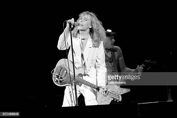 Robin Zander performing with Cheap Trick at the Palladium in New York City on May 25 1979