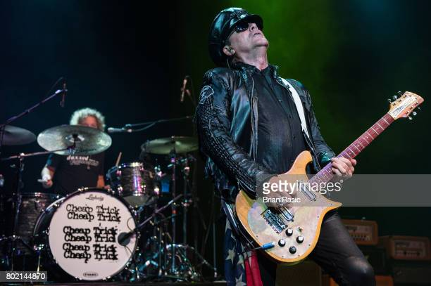 Robin Zandler of Cheap Trick performs at The Forum on June 27, 2017 in London, England.