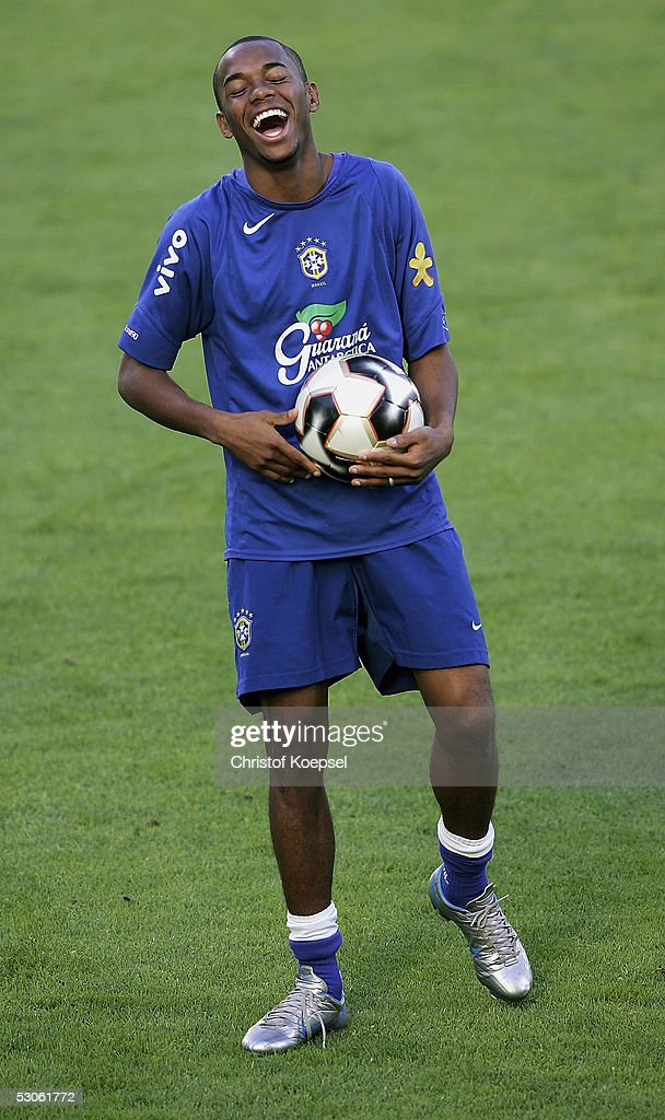 FIFA Confederations Cup 2005 Brazil Training