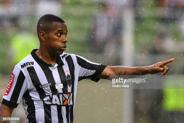 Robinho of Atletico MG a match between Atletico MG and Gremio as part of Brasileirao Series A 2017 at Independencia stadium on December 3 2017 in...