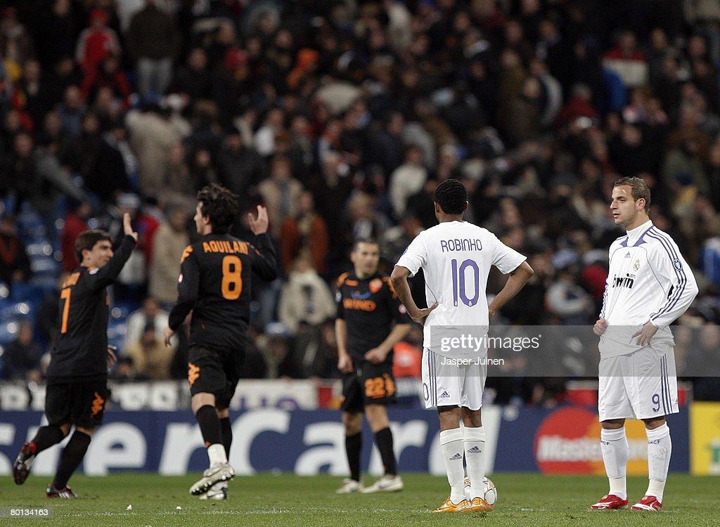 Real Madrid v AS Roma - UEFA Champions League : News Photo