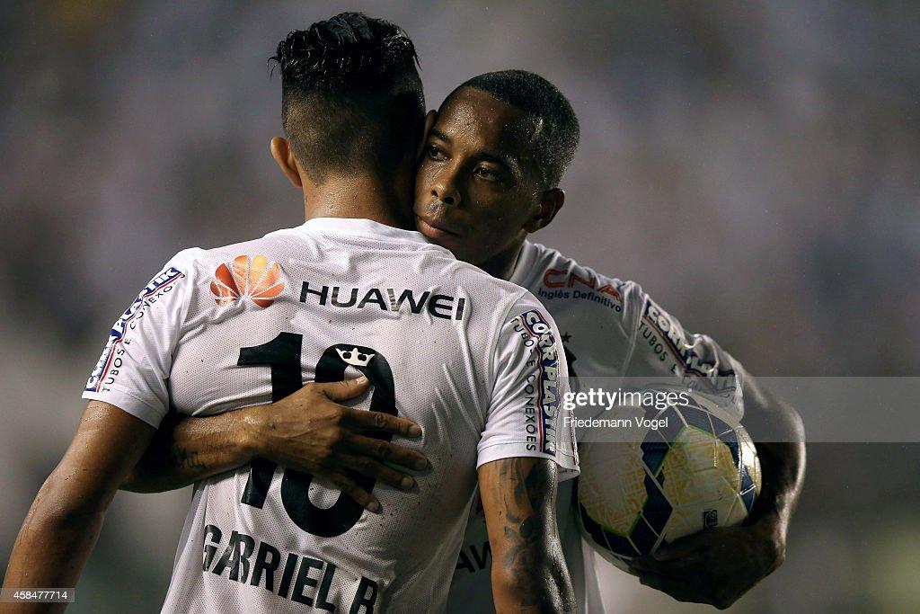 Santos v Cruzeiro - Copa do Brasil 2014