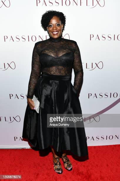 Robins Walker attends Passionflix's The Will Los Angeles Premiere on February 12 2020 in Culver City California