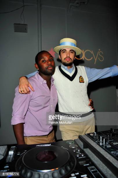 Robinson and DJ Cassidy attend RUSSELL SIMMONS MACY'S celebrate RUSSELL SIMMONS ARGYLECULTURE FALL 2010 Menswear Presentation at Ampersand Studios on...