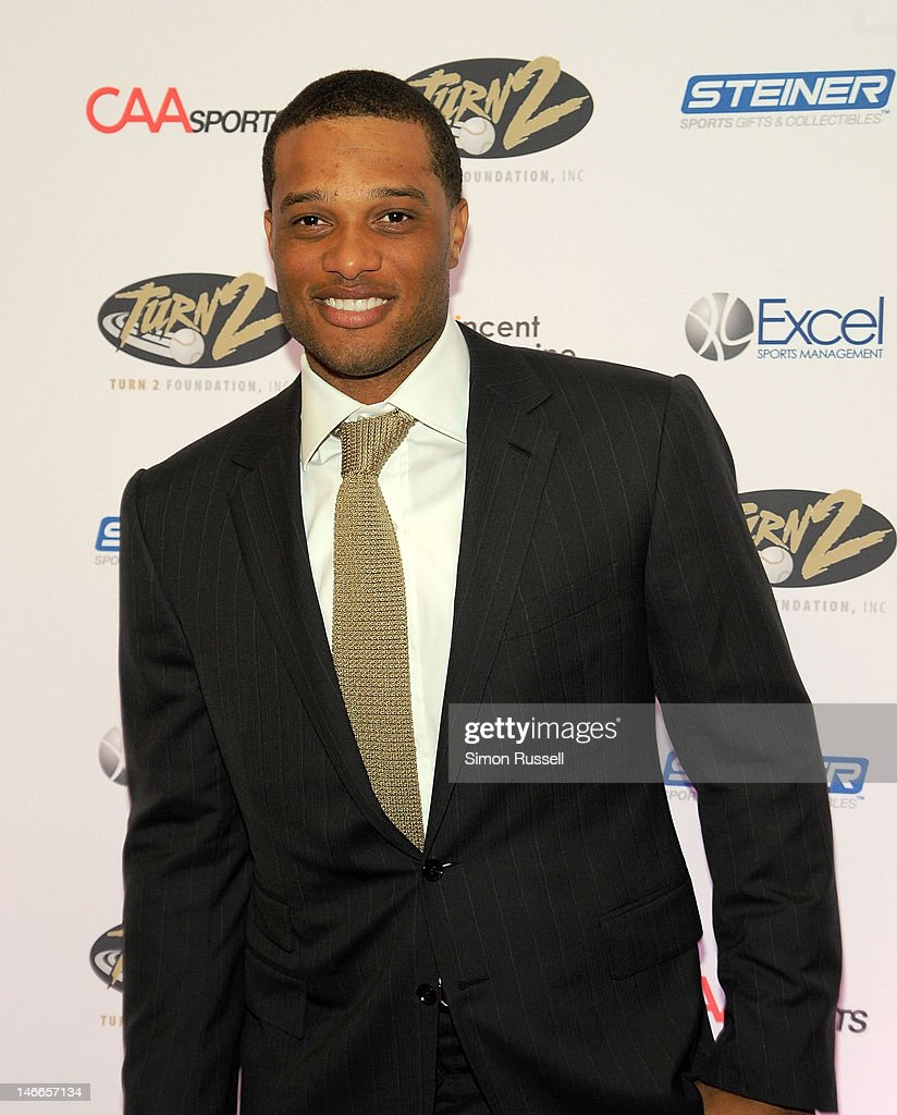Robinson Cano New York Yankees 2nd basemen attends the 16th Annual Turn 2 Foundation Dinner Hosted By Derek Jeter at New York Sheraton Hotel & Tower on June 21, 2012 in New York City.