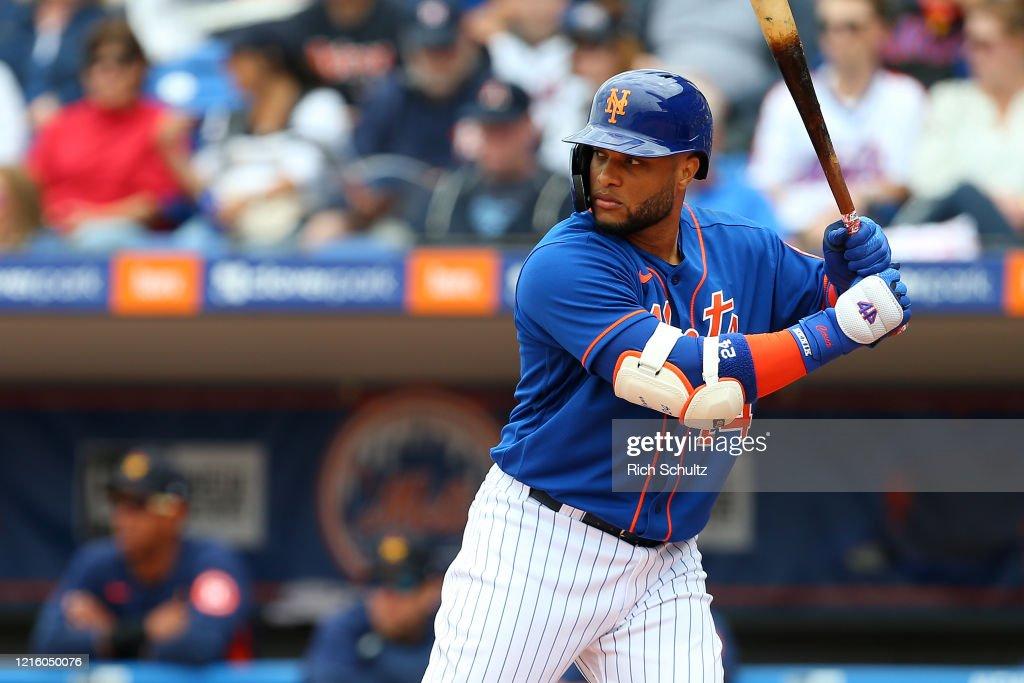Houston Astros v New York Mets : Photo d'actualité