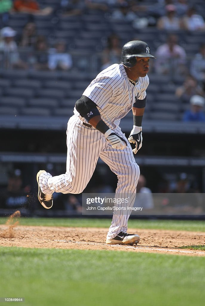 Image result for robinson cano running  to first base as a yankee