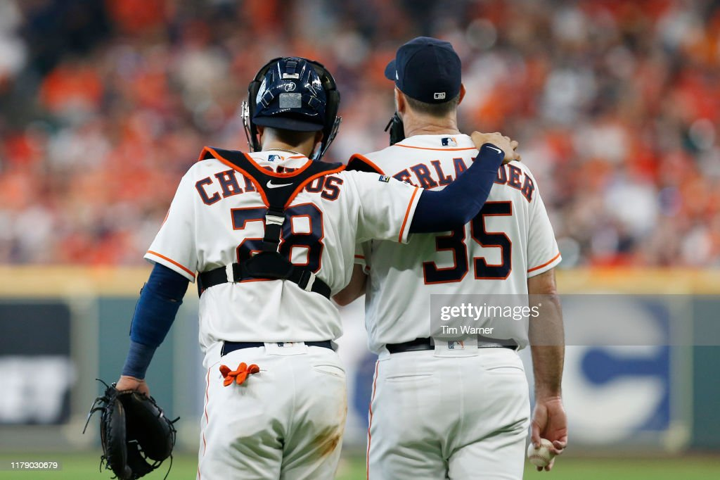 Divisional Series - Tampa Bay Rays v Houston Astros - Game One : News Photo