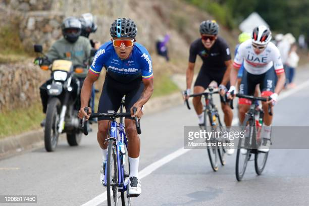 Robinson Eduardo Chalapud Gomez of Colombia and Team Medellin / during the 3rd Tour of Colombia 2020, Stage 5 a 180,5km stage from Paipa to Zipaquirá...