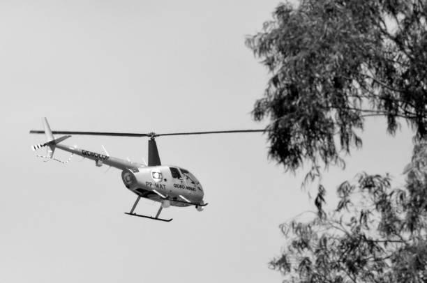 Robinson Helicopter R44 - Rede Globo Minas