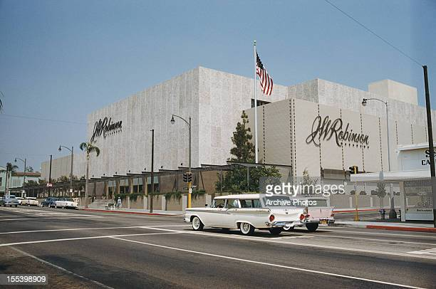 J W Robinson's department store on Colorado Boulevard in Pasadena California August 1959