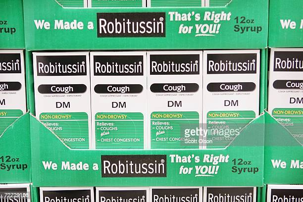 Robitussin cold medicine containing dextromethorphan is offered for sale at a retail store December 05 2006 in Chicago Illinois According to reports...