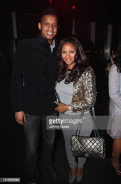 66d3914636db Roble Ali and Marvet Britto attend the Selima for June Ambrose Sunglasses  collection at Le Bain