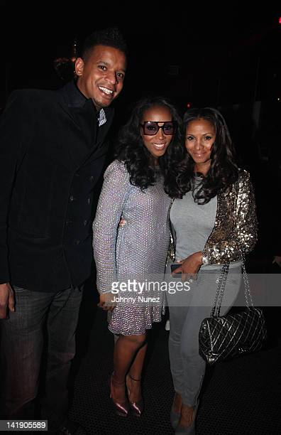 c2a92935143c Roble Ali June Ambrose and Marvet Britto attend the Selima for June Ambrose  Sunglasses collection at
